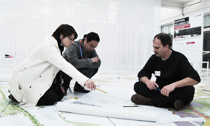 Workshop at Biennale Internationale Design